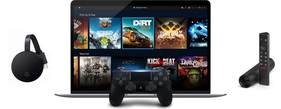Google Stadia与GeForce Now与PlayStation Now游戏流媒体服务大战