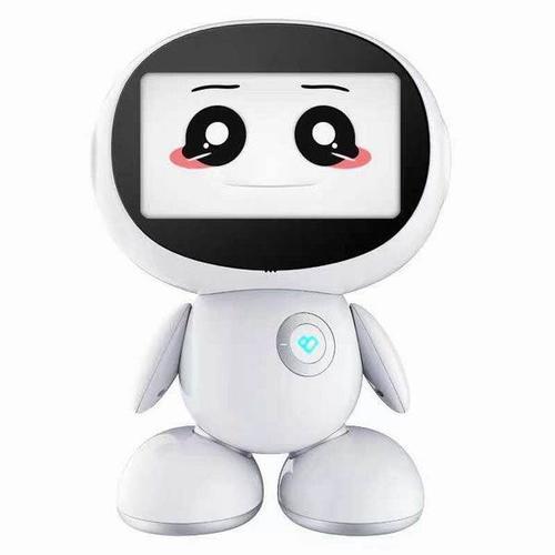 向想要运送食品的小机器人问好