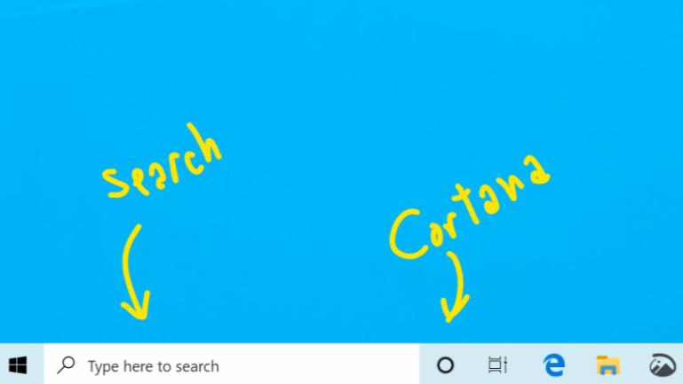 微软将从Windows 10搜索栏中删除Cortana