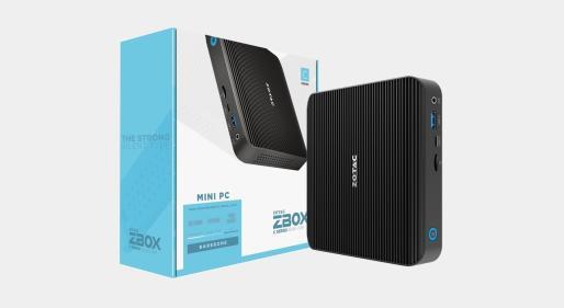Zotac的超薄无风扇Zbox Edge上市