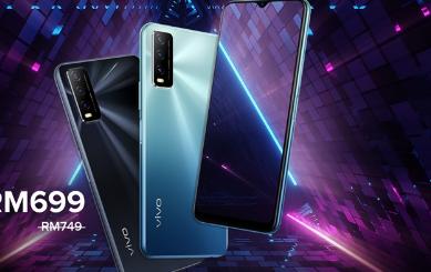 vivoY20sGMalaysia智能手机正式发售