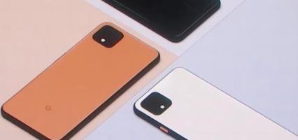 谷歌发推了智能手机渲染后不久Pixel4的外观