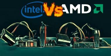 AMD已从英特尔手中夺得30%的游戏CPU市场份额