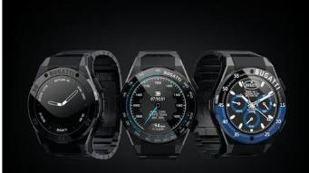 布加迪与VIITA合作推出全新智能手表系列