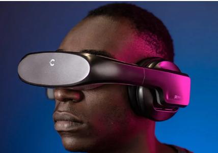 CineraEdge是世界上第一款个人影院HMD配备双2.5K微型OLED