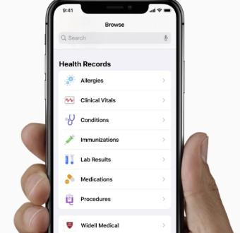 苹果与MayoClinic合作在HealthRecord应用程序中大获全胜