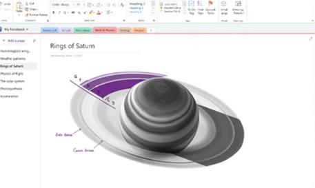 微软正在创建一个具有视觉刷新功能的OneNoteforWindows应用程序
