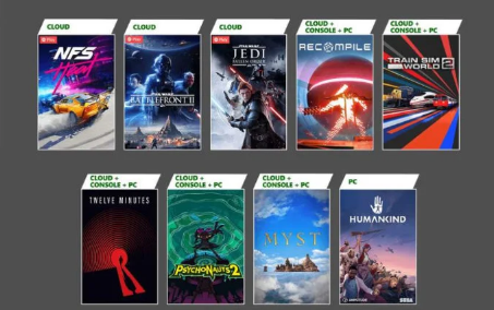 免费Xbox游戏即将加入XboxGamesPass