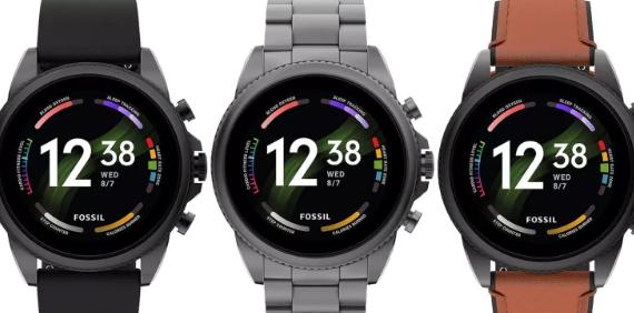 Fossil的Gen6智能手表系列全部泄露
