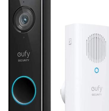 Eufy像素包装的2K视频门铃恢复到Prime会员日价格