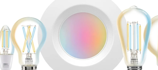 Cree为其ConnectedMax智能照明系列增加了灯丝灯泡和筒灯