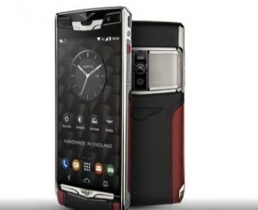 Vertu为Bentley智能手机推出第二代SignatureTouch价格超贵