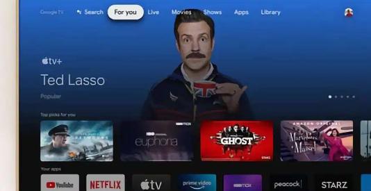 AppleTV应用程序现在可在Chromecast和GoogleTV上使用