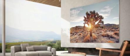 三星宣布推出76英寸版本的新型MicroLED电视