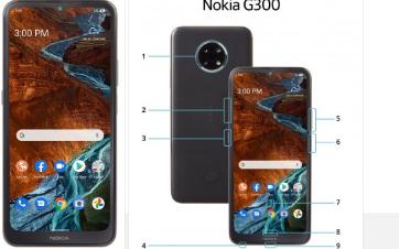 诺基亚G3005G泄漏配备Snapdragon480芯片组720p+显示屏