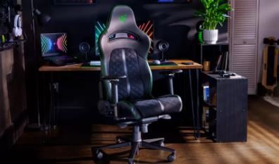 Razer的Next游戏椅抛弃了Iskur独特的腰枕